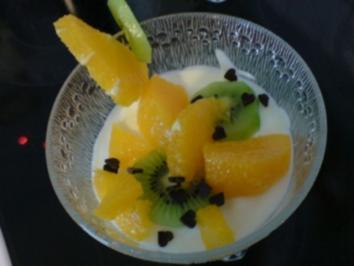 Joghurt-Mousse mit Früchten - Rezept