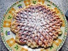 Apfelwaffeln - Rezept