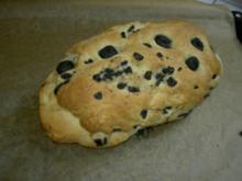 Brot  -  Olivenbrot - Rezept