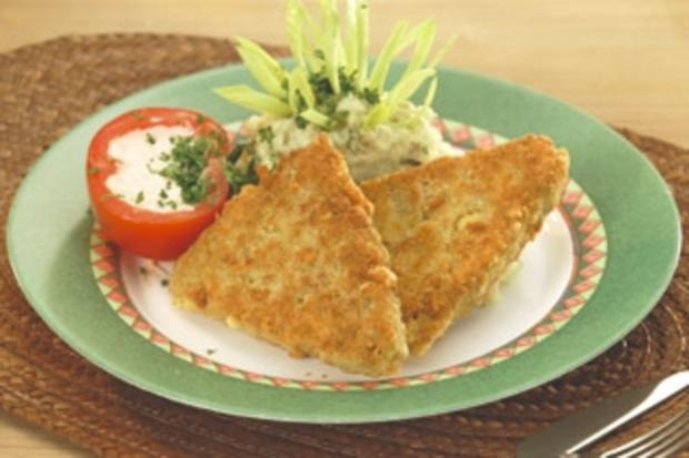 Käse-Schnitzel - Rezept