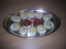 Bufett - gefüllte Eier - Rezept