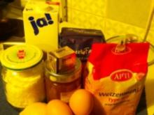 Hefe-Streuselkuchen mit Kürbis-Citronenmarmelade - Rezept