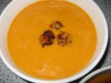 Thai Currysuppe mit Garnelen - Rezept