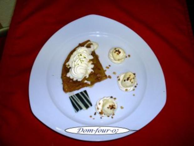 Apfel-Tarte mit Karamell - Rezept