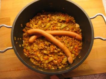 Linsen- Gemüseeintopf - Rezept