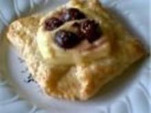 Kirsch-Puddingteilchen - Rezept
