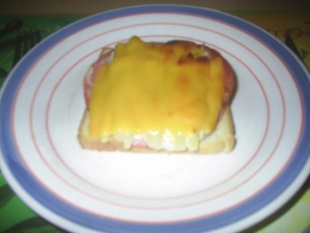 Toast - Schinken-Spargel-Toast - Rezept