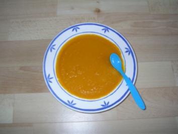 Möhrchenbrei mit Hirse und weißem Mandelmus - Rezept