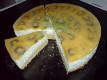 Kiwi-Quark-Torte - Rezept