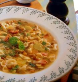 Italienische Linsensuppe - Rezept