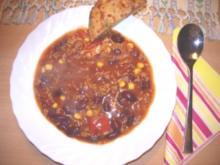Suppen: Chili con Carne Suppe - Rezept