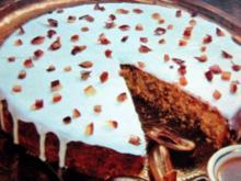 Dattelkuchen mit Mandeln - Rezept