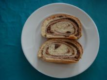 Kuchen: Nuss-Hefe-Kuchen - Rezept