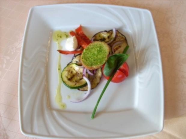 Mediterraner Gemüsesalat - Rezept
