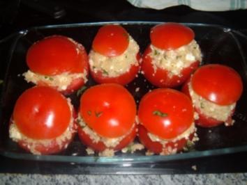 Gegrillte Tomaten - Rezept