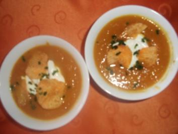 Ingwer-Möhren_Suppe - Rezept