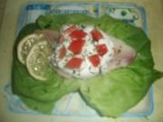 Forellenfilet mit Meerrettichcreme - Rezept