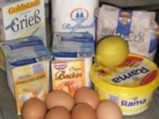 Käsekuchen ohne Boden - Rezept