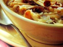Kalbrische Pilzsuppe - Rezept