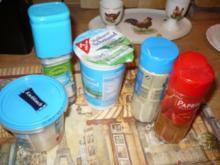 Sahnedressing für Salat - Rezept