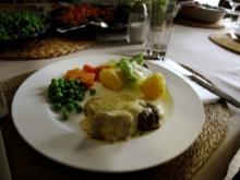 Lammfleisch mit Buttersauce - Rezept