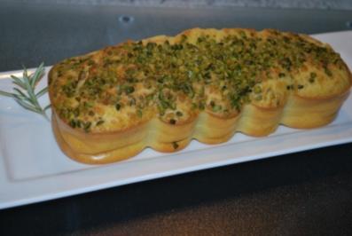 Rosmarin-Ziegenfrischkäse-Cake - Rezept