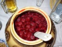 Himbeer- Weissbier- Bowle - Rezept