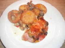 Ofenschnitzel mit Gemüse - Rezept
