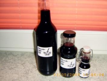Holunderbeersaft - Rezept