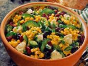 Mais Bohnen Salat - Rezept - Bild Nr. 2