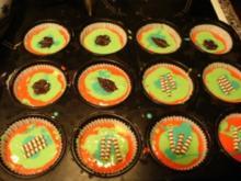 bunte Muffins - Rezept