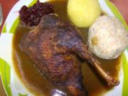 Die Ente und ihre Lebkuchensoße - Rezept
