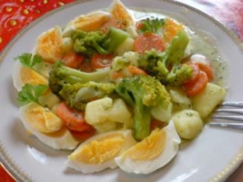 Raffiniertes Eier-Ragout mit Gemüse - Rezept