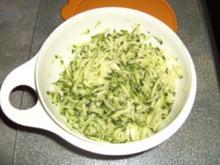 Zucchinipuffer - Rezept
