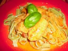Fleischröllchen mit Tomaten - Mozarella - Füllung - Rezept