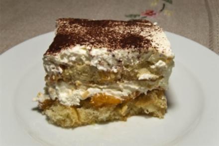 Mandarinen-Tiramisu - Rezept