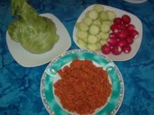 Tomaten-Burgul, Ba'let banadura - Rezept