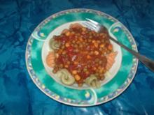 Tomaten-Mexico-Gemüse -Sauce - Rezept
