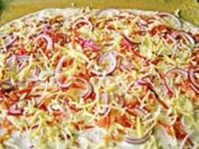 Elsässer Flammenkuchen - Rezept