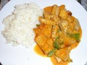 Puten-Ananas-Curry - Rezept