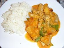 Puten-Ananas-Curry - Rezept