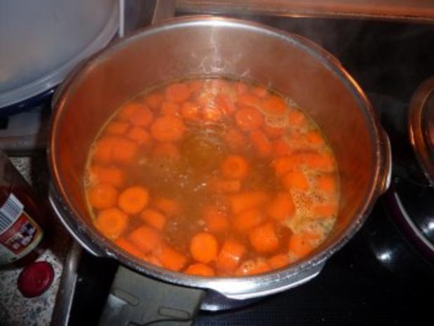 Suppen: Bärbel's Möhren-Curry-Suppe - Rezept - Bild Nr. 3