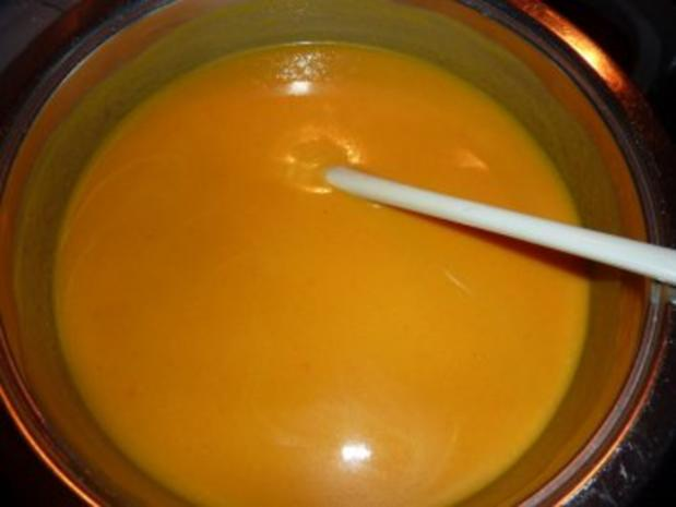 Suppen: Bärbel's Möhren-Curry-Suppe - Rezept - Bild Nr. 4