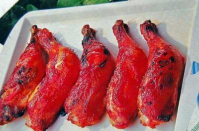 Chili Hähnchenkeulen - Rezept