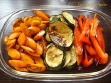 Lauwarme Gemüseplatte - Rezept