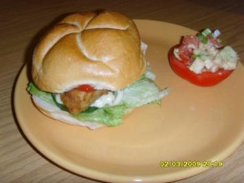 Rezept: Fischburger