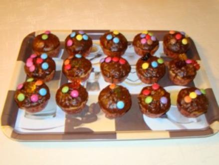 Apfel - Schoko - Muffins - Rezept