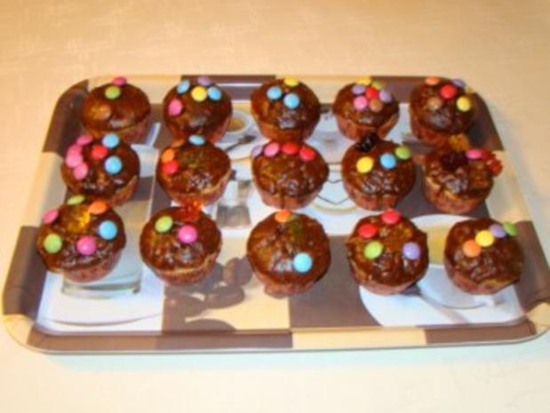 apfel schoko muffins rezept mit bild. Black Bedroom Furniture Sets. Home Design Ideas