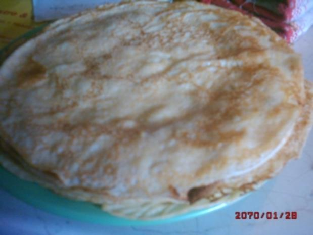 dünne Eierpfannkuchen - Rezept - Bild Nr. 4