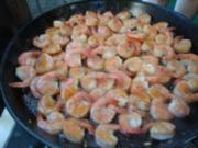 Abendbrot - Gambas al ajillo - ein Muß in Spanien - Garnelen satt - Rezept